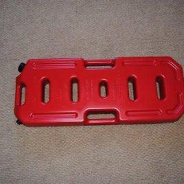 Bidón Bencina Plástico 30lts Rojo
