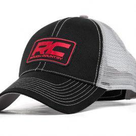 a63081f904ae8 Gorro malla negro Gris Rough Country