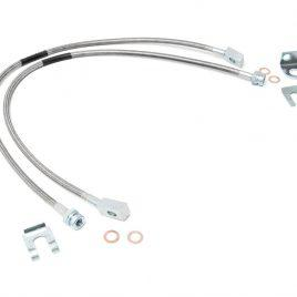 Linea de freno extendida de acero inoxidable XJ TJ Rough Country