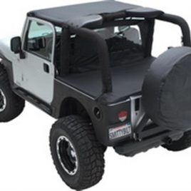 Extended Soft Top 97-06 Wrangler TJ Black Diamond Smittybilt