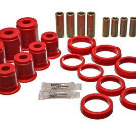 ENERGY SUSPENSION 2.3102R FRONT CONTROL ARM BUSHING SET RED