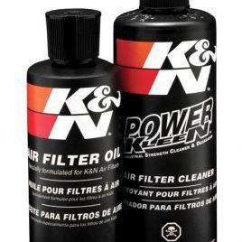 K&N Air Intake Cleaner Recharger Kit With Spray Oil