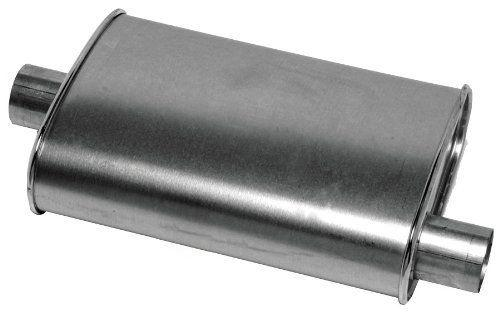 Dynomax 17711 Thrush Turbo Muffler Oval 2 in. ID 4.25 in. x 9.75 in.