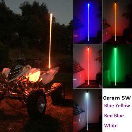 Pértiga LED con bandera 7 inch