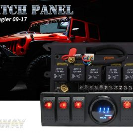 Switch control panel – Jeep Wrangler JK
