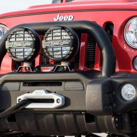 Parachoque estilo AEV Jeep Wrangler JK
