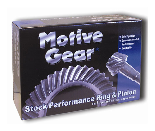 R&P Motive Gear XJ 4.56