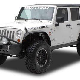 Jeep Wrangler JK – Metal Fender Flares