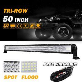 Barra LED 50″ Tri-Row 2340w Cree