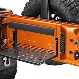 Bandeja plegable para portalon Jeep Wrangler JK