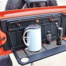 Bandeja plegable para portalon Jeep Wrangler JL