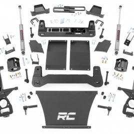Kit De Suspension 4″ Para Chevrolet Silverado GM Trail Boss 19-21